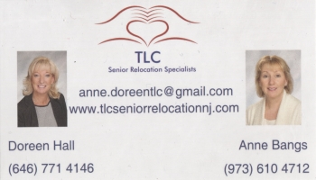 Anne Bangs - TLC Senior Relocation Specialists, LLC | SENIOR RELOCATION SPECIALIST