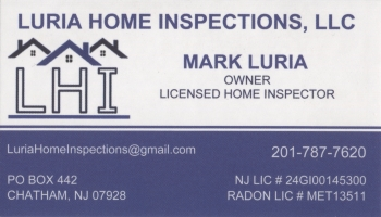 Mark Luria - Luria Home Inspections, LLC | HOME INSPECTIONS