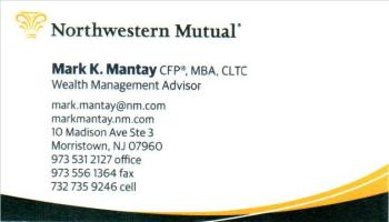 Mark&nbsp;Mantay, CFP&reg;, MBA, CLTC - Northwestern Mutual | FINANCIAL PLANNING<BR>INVESTMENT ADVICE<BR>HIGH QULAITY INVESTMENT SOLUTIONS