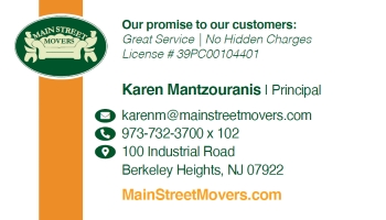 Karen Mantzouranis - Main Street Movers, Inc. | MOVERS