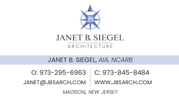 Janet Siegel - Siegel Architects, P.C. | ARCHITECT