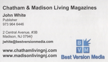 John White - Chatham Living & Madison Living Magazines | MEDIA / MAGAZINE PUBLISHING